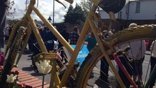 Crowds lined the route of the Tour de Yorkshire last year