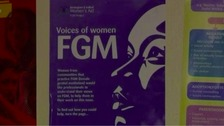 An anti-FGM campaign poster