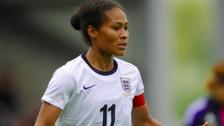 England star Rachel Yankey