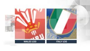 Wales v Italy U20's