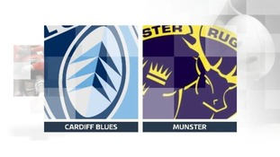 Cardiff Blues 10 - 8 Munster