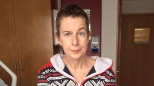 Katie Hopkins reveals newly shaved head before undergoing second round of surgery