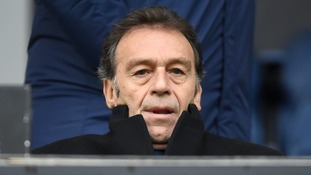 Leeds fans call on Cellino to quit club in stunt