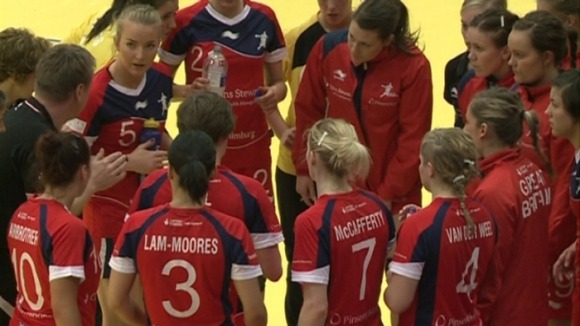 GB's handball team lose at Loughborough