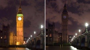 Earth Hour 2015 saw Big Ben turn off the lights - and the landmark will go dark again this year