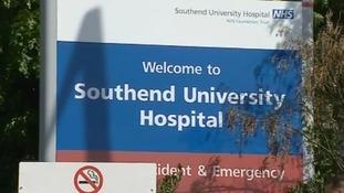 Southend Hospital sign
