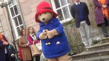 Paddington Bear at the Marmalade Awards