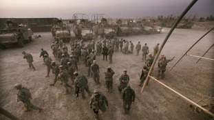 US soldiers in Iraq in 2011