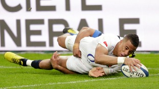 Watch highlights as England win Six Nations Grand Slam