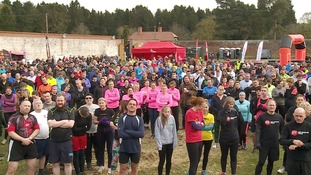 Hundreds join endurance race for air ambulance charity