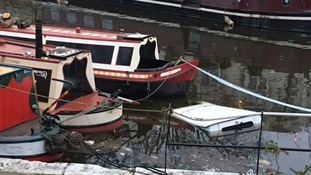 Man released by police after car plunges into canal