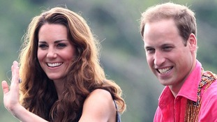 The Duchess of Cambridge on her visit to the Salomon Islands today.