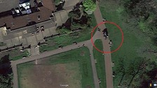 Google map image of location where offence took place