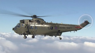 Final flypast for the Seaking Mk4 after a generation of duty
