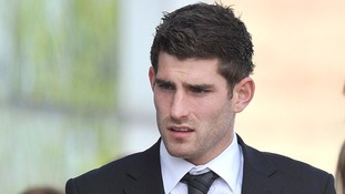 Ched Evans during his trial