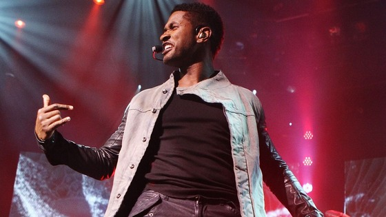 Usher performs on the first day at the iTunes Festival at the Roundhouse in London.