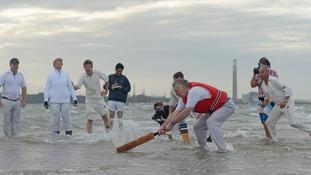 Cricket match in Solent
