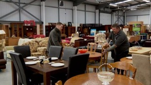The Orchard's second hand furniture store