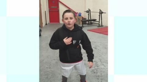 Meet the 10-year-old boy using his own weight loss journey ...