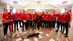 Manics record official single with Wales team for Euro 2016