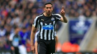 Former Newcastle midfielder Jonas Gutierrez