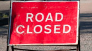 Road closed for four hours