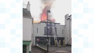 Fire wrecks newly-refurbished cinema