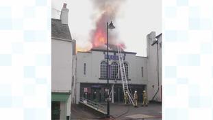 Fire wrecks newly-refurbished cinema