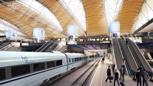 artists impression of HS2