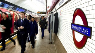 Frustration for commuters as strike paralyses Tube.