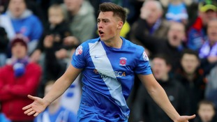 Hartlepool striker Fenwick joins Tranmere on loan