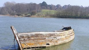River Deben near Woodbridge in Suffolk