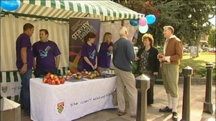 Organisers raise awareness of the festival and its inspiration