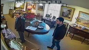 CCTV released after rare antique stolen