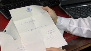 Byrne letter