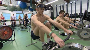 University rowing teams prepare to battle it out in annual Boat Race
