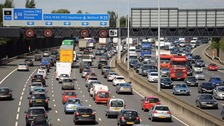 London's Easter getaway: Traffic and travel update.