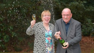 Leeds grandmother celebrates lottery win