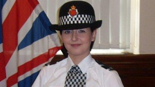 Pc Nicola Hughes who was shot and killed today