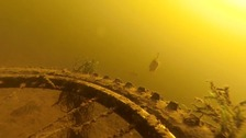'Bike fish' shows the weird gear dumped in our canals.
