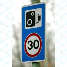 30 mile per hour speed camera