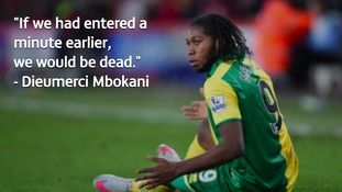 Mbokani says it's a miracle he's still alive.