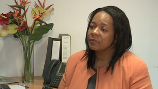 Yvonne Mosquito has been suspended from her job because of a visit she made to the family of murder victim Kenichi Phillips.