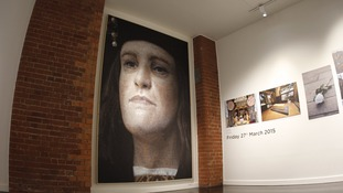 Photo mosaic portrait of Richard III