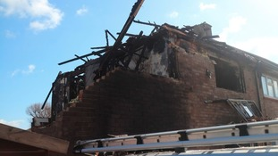 Pictures: devastation after Stevenage explosion