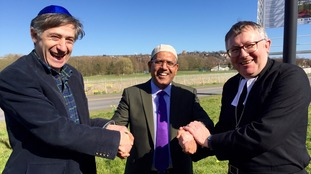 Richard DaleImam, Tanweer Ahmed and The Revered Bruce Thompson