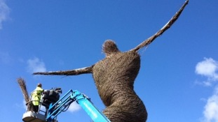 Work starts on Willow Man