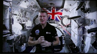 Ground control to Major Tim: Brit astronaut to pilot Rover from space