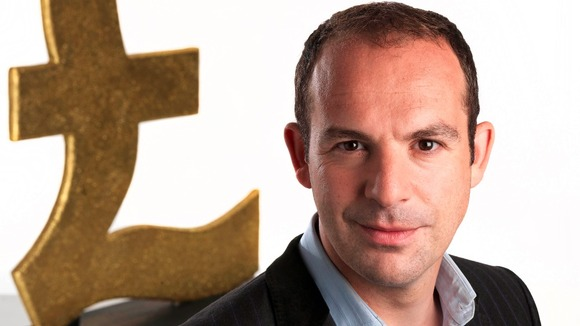A close up picture of Martin Lewis 