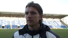 Akex Gilbey: Scored Colchester's 3rd